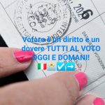 Votiamo tutti!